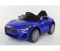 Электромобиль T-7661 EVA BLUE легковой на Bluetooth 2.4G Р/У 6V7AH мотор 2*18W з MP3 102*61*55 /1/