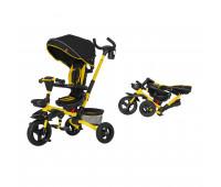Велосипед трехколесный TILLY FLIP T-390 Желтый/1/