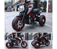 Электромобиль T-7236 EVA RED мотоцикл 2*6V4.5AH мотор 2*15W з MP3 102*51*59 /1/