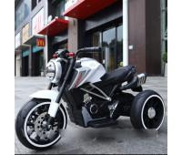 Электромобиль T-7236 EVA WHITE мотоцикл 2*6V4.5AH мотор 2*15W з MP3 102*51*59 /1/