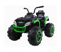 Электромобиль T-7318 EVA GREEN квадроцикл 12V7AH мотор 2*35W з MP3 106*68*50 /1/