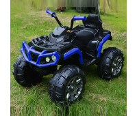 Электромобиль T-737/1 EVA BLUE квадроцикл 12V7AH мотор 2*35W з MP3 106*62*40 /1/