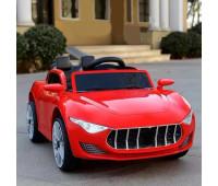Ел-мобіль T-7637 EVA RED легковий на Bluetooth 2.4G Р/У 2*6V4AH мотор 2*25W з MP3 105*55*45 /1/