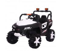 Электромобиль T-7844 EVA WHITE джип на Bluetooth 2.4G Р/У 2*6V4AH мотор 4*15W з MP3 115*68*77 /1/