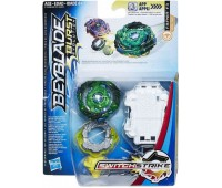 Игровой набор Hasbro Beyblade Волчок Switch Strike и пусковое устройство Bey Sst Fafnir F3 (E0723_E1038)