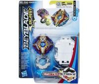 Игровой набор Hasbro Beyblade Волчок Switch Strike и пусковое устройство Bey Sst Xcalius X3 (E0723_E1035)