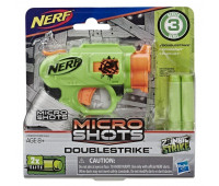 Бластер Hasbro Nerf Микрошот DOUBLESTRIKE (E0489_E3000)