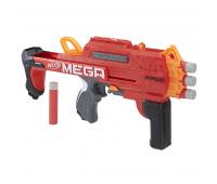 Бластер Hasbro Nerf Mega BULLDOG со стрелами (E3057)