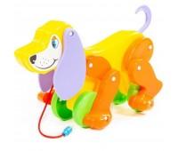 Собака-каталка Polesie Боби желто-оранжевая (5434-1)