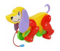 Собака-каталка Polesie Боби желто-красная (5434-2)