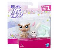Фигурка Hasbro Littlest Pet Shop набор из двух петов Хиппо Рейр с аксессуарами (B9358_E0461)