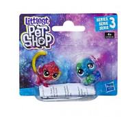 Игровой набор Littlest Pet Shop Космические петы 2 шт (E2128_E2578)