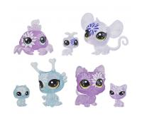 Игровой набор Hasbro Littlest Pet Shop 7 цветочных петов Гортензия (E5149_E5163)