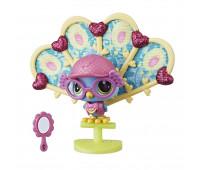 Игровой набор Hasbro Littlest Pet Shop премиум Павлин Рой (E2161_E2429)