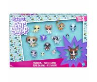 Игровой набор Hasbro Littlest Pet Shop коллекция петов Друзья Шалуны (B9343_E1011)