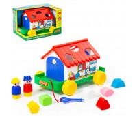 Игра Polesie игровой дом в коробке красный (6028-1)