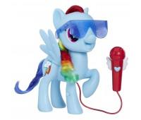 Интерактивная игрушка Hasbro My Little Pony поющая Радуга Дэш (E1975)