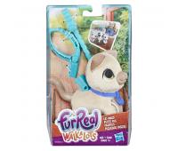Интерактивная игрушка Hasbro Furreal Friends маленький питомец на поводке Кот (E3503_E4766)