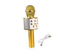 Игрушка QUNXING Микрофон золотой (WS-858-2)