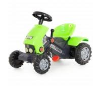 Детский трактор на педалях Polesie Coloma Y Pastor Turbo 2 (52735)