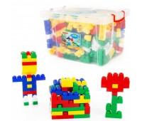 Детский конструктор в контейнере