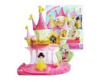 Игровой набор Hasbro Disney Princess: маленькая кукла принцесса и дворец Белль (E1632)