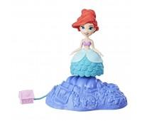 Игровой набор Hasbro Disney Princess мини кукла принцесса крутящаяся Ариэль (E0067_E0244)