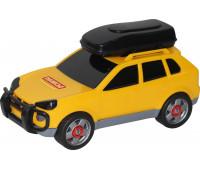 Игрушка Polesie автомобиль легковой (в сеточке) желтый (53671-1)