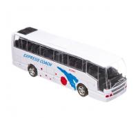 Автобус инерционный Big Motors, белый (XL80136L-4)