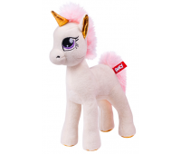 Мягкая игрушка FANCY Единорог Молли белый 28см (POM0)