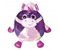 Мягкая игрушка FANCY Единорог Келвин блестящий с пайетками 27см (POG01)