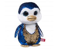 Мягкая игрушка с паетками FANCY Пингвинчик Сапфир (GPI0P)