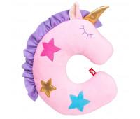 Детская подушка подголовник FANCY Единорог Звёздочка Розовый (VEI1-1)