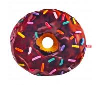 Подушка декоративная Fancy Пончик шоколадная глазурь с посыпкой (PP01-Ш)