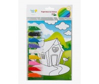 Набор Genio Kids-Art для детского творчества Картина из песка (TP1001V)