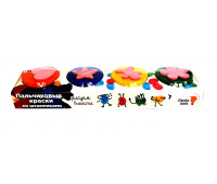 Набор Genio Kids-Art для детского творчества Genio Kids-Art пальчиковые краски со штампиками (TA1400)