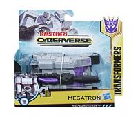 Трансформер Hasbro Transformers Кибервселенная 1 шаг E3522_E3528 MEGATRON