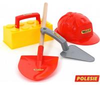 Игровой набор Polesie каменщика №4