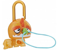 Набор Hasbro Lock Stars Orange Dinosaur Замочки с секретом (E3103_E3170)