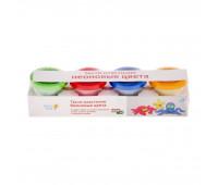 Набор для детского творчества «Тесто-пластилин 4 цвета Неоновые цвета » - Genio Kids (TA1016V)