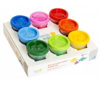 Набор для лепки «Тесто-пластилин 8 цветов» в баночках - Genio Kids (TA1045)