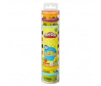 Набор пластилина Play-Doh для лепки из 10 баночек в блистере (22037)