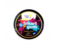 Умный пластилин «SMART GUM», цветное свечение, синий - GENIO KIDS (HG06-4)