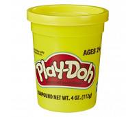 Тесто Play-Doh в баночке 112 г Желтый цвет (B6756-4)
