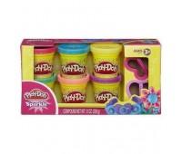 Hабор пластилина Play-Doh блестящая коллекция (A5417)