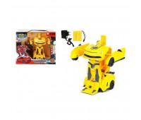 Машина - Трансформер на радиоуправлении, желтая - Maya Toys (JT297-1)