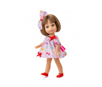 Кукла Люси в розовом платье, 22 см