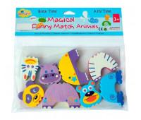 """5002028 Детские аква-пазлы """"Смешные животные"""", 4 игрушки"""