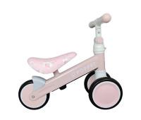 Детский трёхколёсный беговел POPPET «Единорог Кенди Джелли», розово-золотой