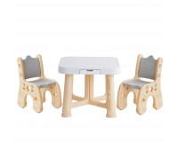 """PP-001C Детский функциональный столик POPPET """"Классик"""" и два стульчика"""